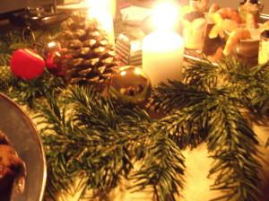 14.12.. 2. déco table Noël