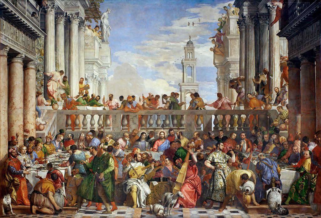 Noces de Cana, Veronese