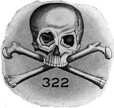 """Emblème des """"Skull and bones"""""""