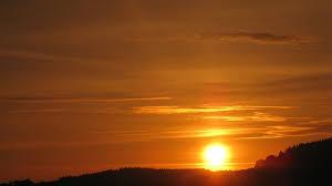 solstice; soleil levant