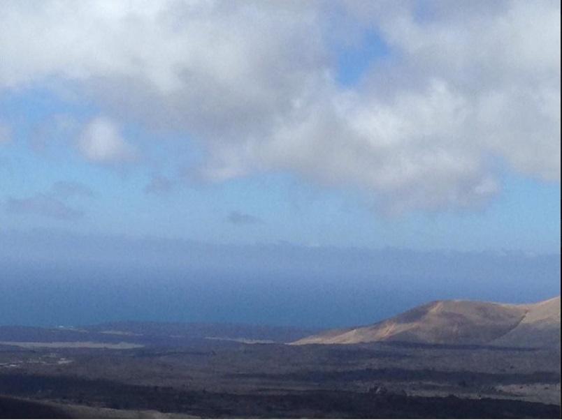 Cesar Manrique; Lanzarote, volcans, mer, ciel