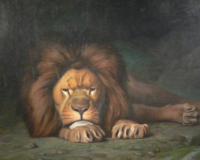 lion-qui-boude