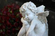 statue ange, cimetière