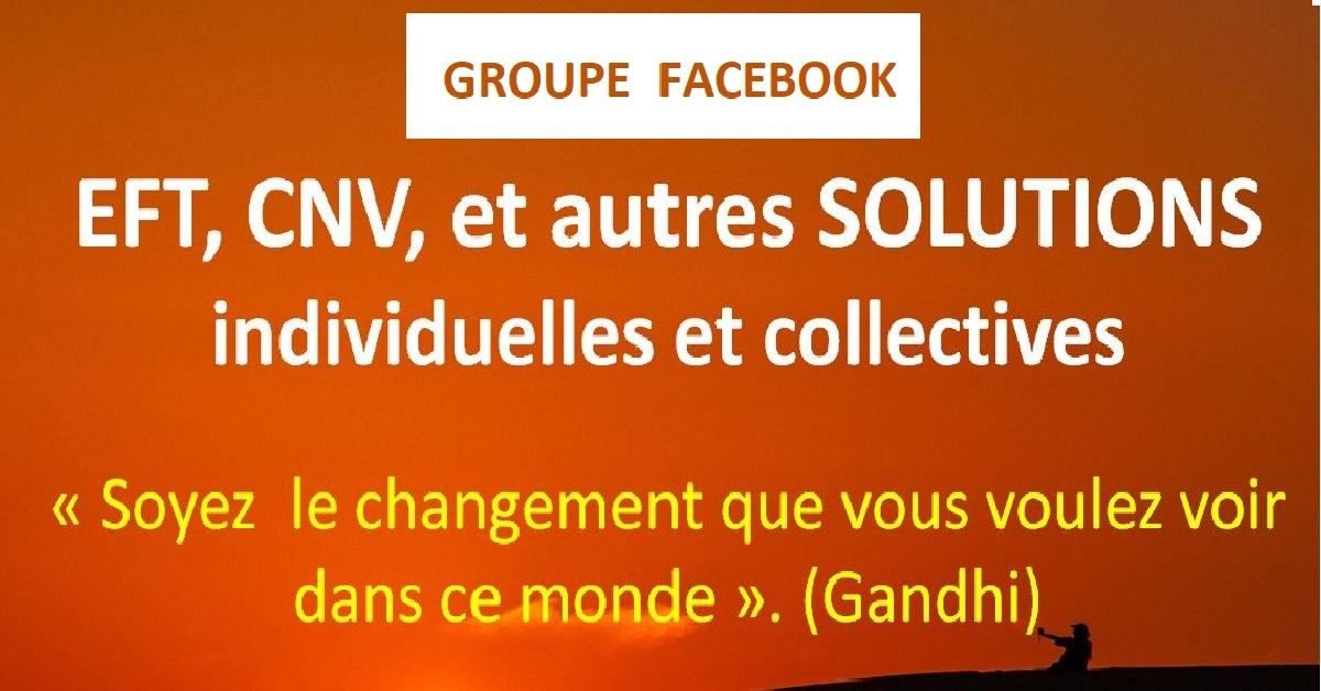 """groupe FB : """"EFT, CNV, et autres SOLUTIONS individuelles et collectives."""